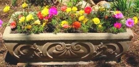 уличные горшки для цветов