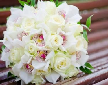 букет из орхидей купить, заказать орхидеи с доставкой для невесты,