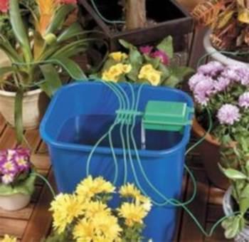 Система автоматического полива растений на 10 штук