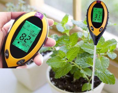 измеритель ph почвы, прибор для измерения кислотности грунта