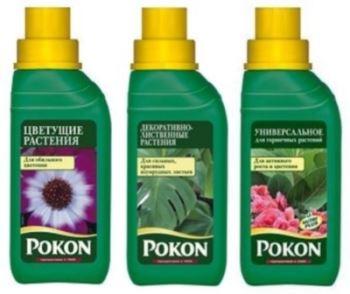 Жидкие удобрения для комнатных растений